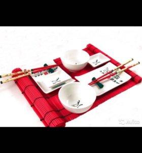 Набор посуды для суши 12 пр. в подарочной коробке