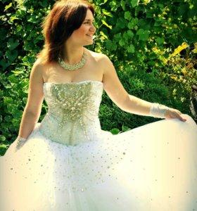 Свадебное платье принцессы🎀🎀🎀👑