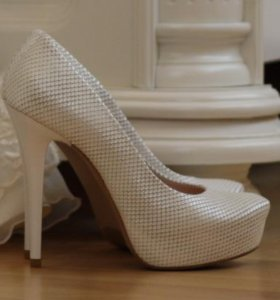 Свадебные туфли 34-35 размер