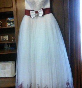 Свадебное платье! Новое!