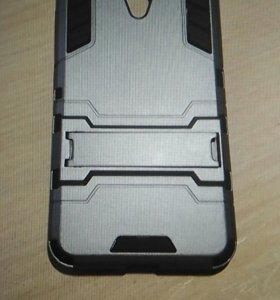 Защитный чехол и защитное стеклона meizu m3s mini