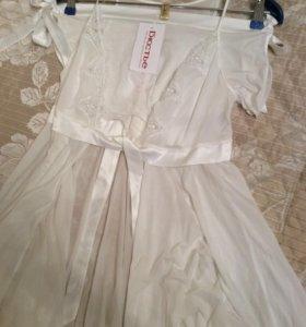 Пеньюар и шорты Croisette из магазина Бюстье новые