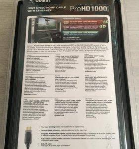 Продаётся новый кабель HDMI BELKIN
