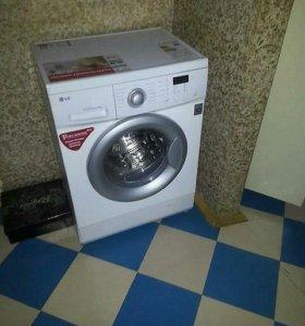 LG от 6 до 8 кг.Машинка стиральная автомат