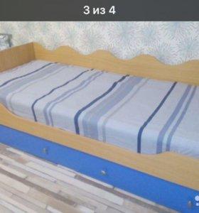 Кровать Ручеек