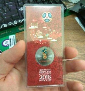 Коллекционная монета ЧМ 2018!!!