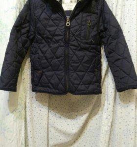 Куртка zara 104-110 джинсы в подарок