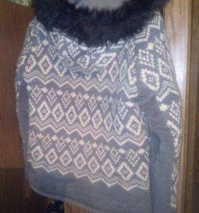Одежда:куртка теплая,размер. L,платье вечернее
