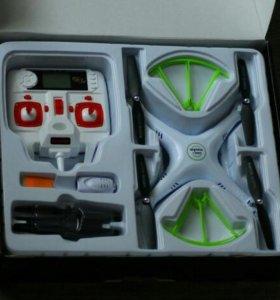 Подаю новый квадрокоптер Syma X5HC с видеокамерой!