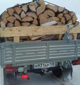 Продам дрова листвяк сухой.