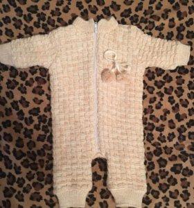 Тёплый костюм для малыша
