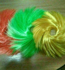 Декоративные резинки для волос