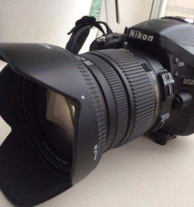 Nikon D5200 + Sigma AF 17-50mm f/2.8 EX DC OS HSM