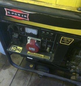 Дизельная станция генератор 6500