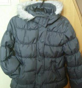 Куртка утепленная зимняя как новая