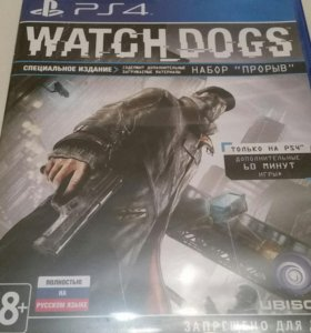 Видеоигра для PS4 Медиа Watch_Dogs.