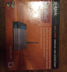 Wi-FI роутер D-link DWL-2100AP