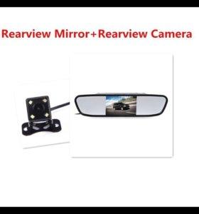 Камера заднего вида с зеркалом
