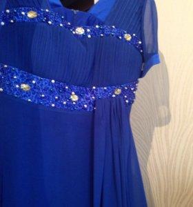 Вечернее платье 52-54р