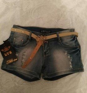 Шорты джинсовые. Новые