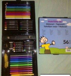 Набор фломастеров /карандашей/мелков biltema