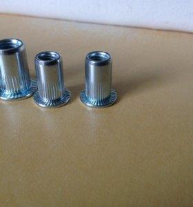 Заклепки резьбовые 3,4,6,8,10 мм