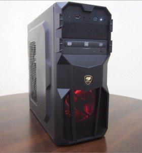 Новая игровая машина 8Gb 6 ядер GTX 1050