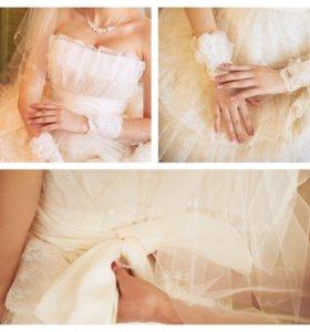 Свадебное платье, размер 46