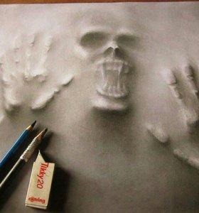 Рисую крутые рисунки