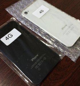 Замена задней крышки iPhone 4/4S (Black/White)
