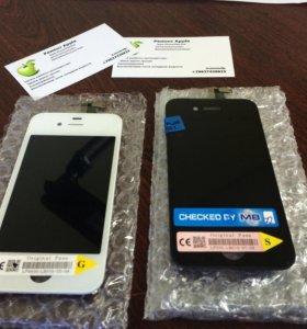 Замена дисплея iPhone 4/4S (Black/White)