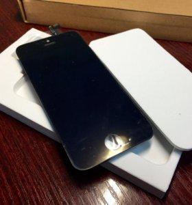 Замена дисплея iPhone 5/5C/5S/SE (Black/White)