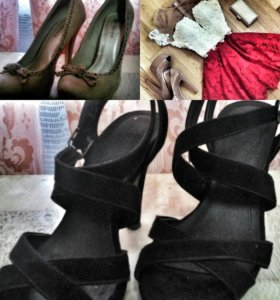 Одежда(платье,туфли)