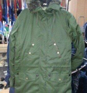 Демисезонная куртка военная