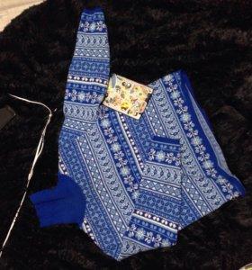 Шерстяной свитер новый унисекс