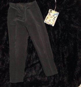 Вельветовые брюки , штаны с завышенной талией