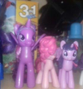 Меняю пони на lps/My little pony