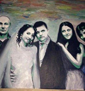 Портреты поп-арт