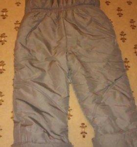 Теплые штаны на мальчика🚶