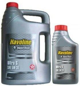 Моторное масло Texaco Havoline Ultra S 5W30