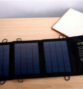 Солнечная Батарея для Зарядки Планшетов и Гаджетов