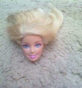 Голова для оака Барби мател