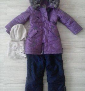 Куртка с комбинезоном фирмы Оrby, на 5-7 лет.