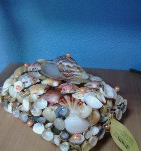 Сувениры из морских ракушек
