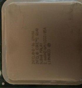 Intel core 2 quad q9400 2.66Ghz(разогнан до 3.3Gh)