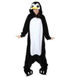 Кигуруми пижама костюм Пингвин