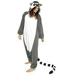 Кигуруми пижама костюм Лемур