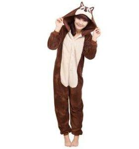 Кигуруми костюм пижама Бурундук