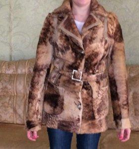 Куртка демисизонная из меха