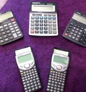 Калькуляторы в ассортименте